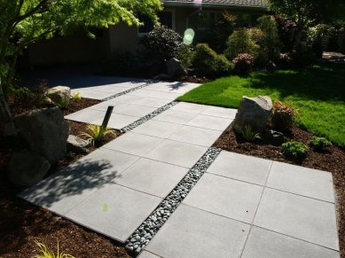 Paths, patios and driveways